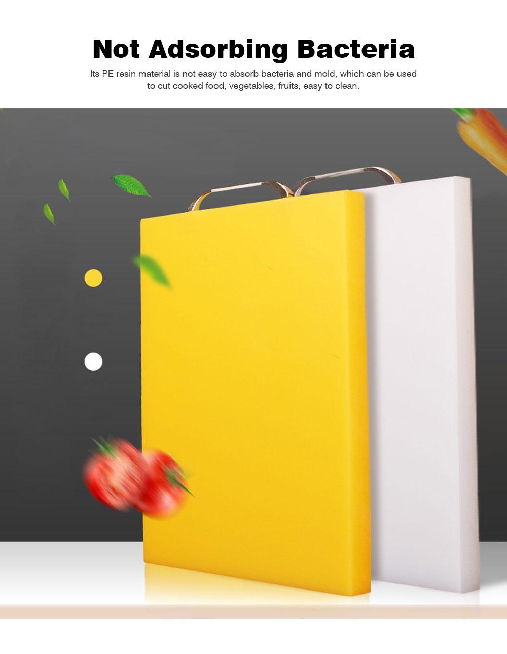 Anti-slip Multi-function Cutting Board, High-quality PE Cutting Board for Cutting Cooked Food, Vegetables, Fruits 2