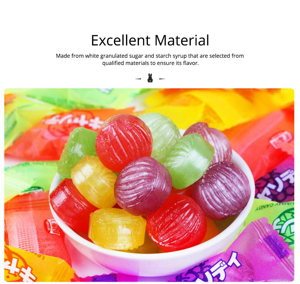 Fruit Flavor Hard Candy for Wedding Snacks, Mixed Package Multiple Flavor Bulk Package Hard Candies, Grape Lemon Flavor 1