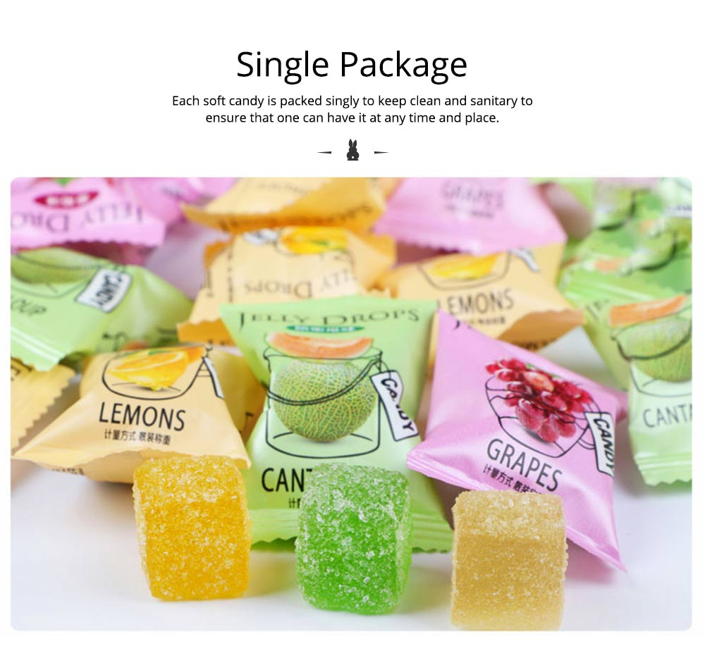 Fruit Flavor Soft Candy for Wedding Snacks, Mixed Package Multiple Flavor Bulk Package Soft Candies 4