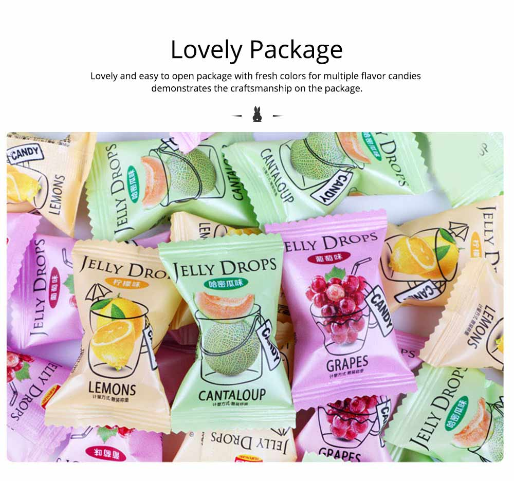 Fruit Flavor Soft Candy for Wedding Snacks, Mixed Package Multiple Flavor Bulk Package Soft Candies 2