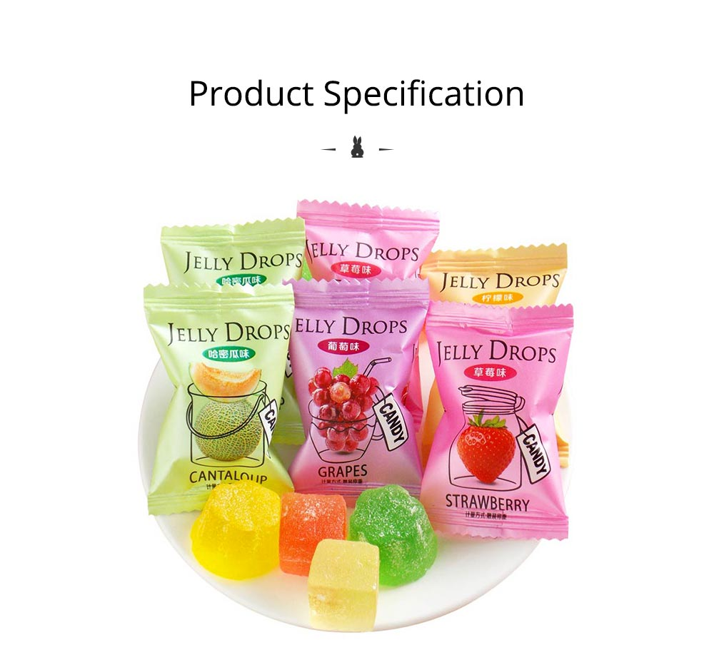 Fruit Flavor Soft Candy for Wedding Snacks, Mixed Package Multiple Flavor Bulk Package Soft Candies 7