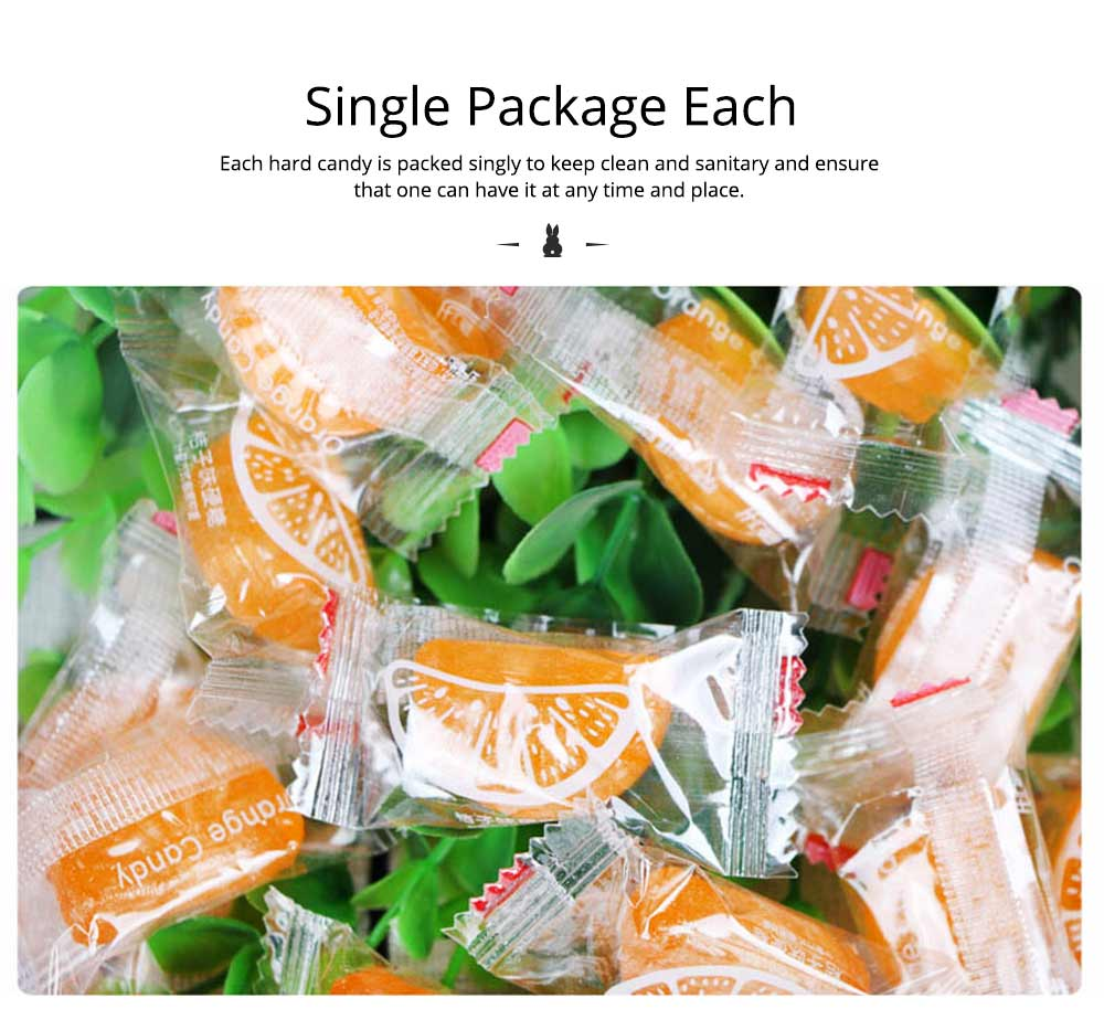 Orange Flavor Hard Candy for Wedding, Traditional Orange Segment Shape Candy of 0.5KG as One Package 4