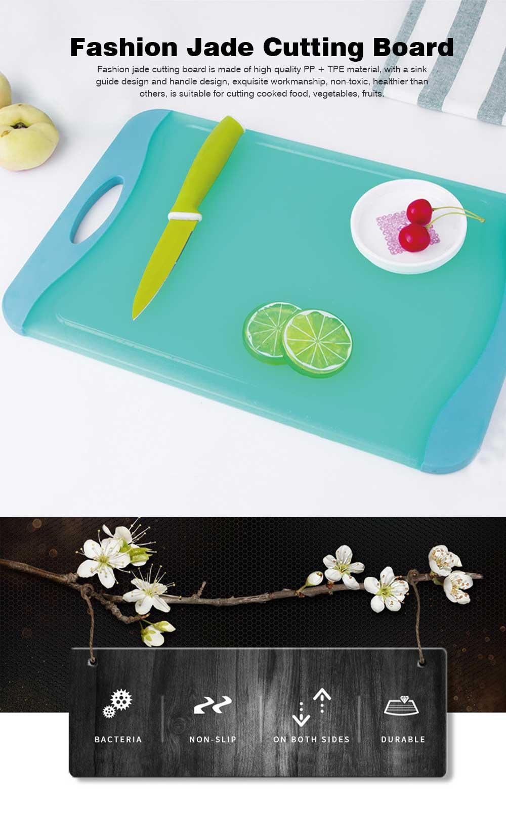 Healthy Wheat Straw Cutting Board, Multi-purpose Cutting Board for Cutting Cooked Food, Vegetables, Fruits 0