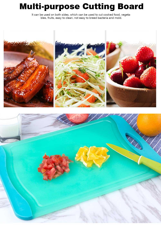 Healthy Wheat Straw Cutting Board, Multi-purpose Cutting Board for Cutting Cooked Food, Vegetables, Fruits 5