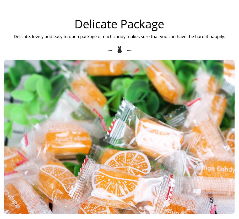 Orange Flavor Hard Candy for Wedding, Traditional Orange Segment Shape Candy of 0.5KG as One Package 2