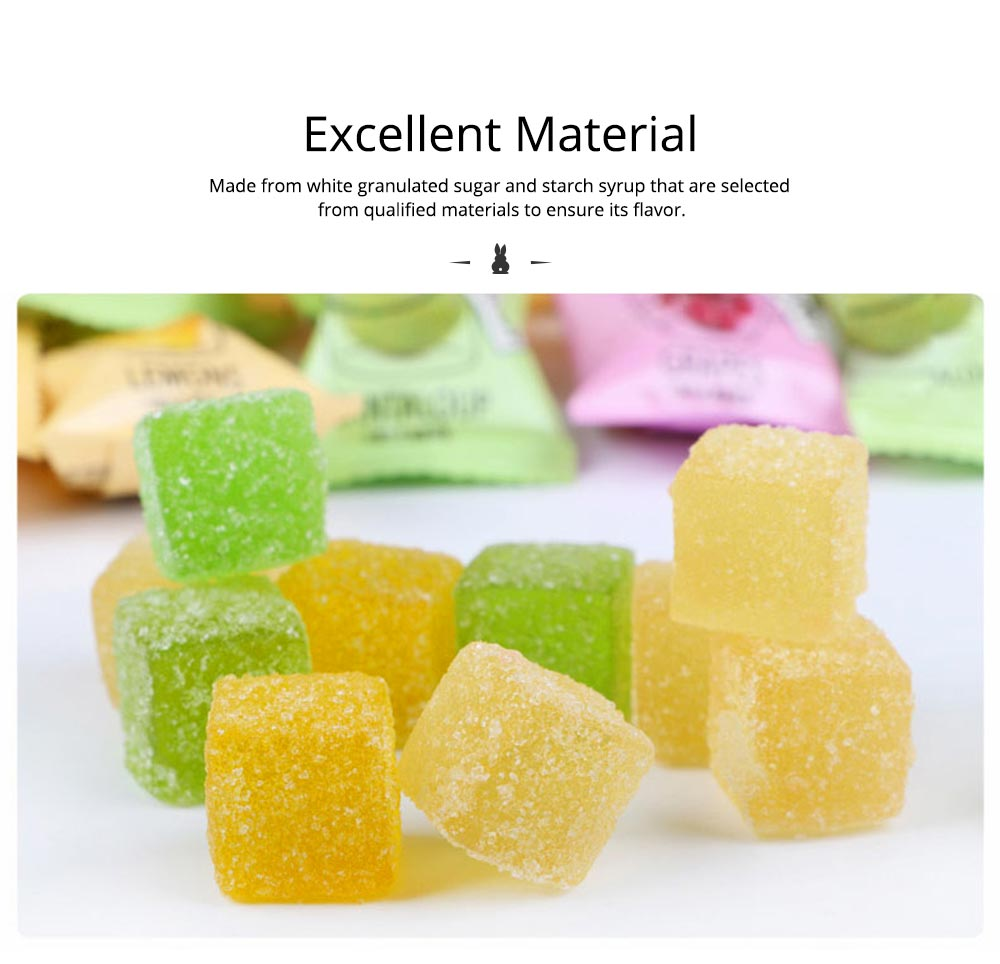 Fruit Flavor Soft Candy for Wedding Snacks, Mixed Package Multiple Flavor Bulk Package Soft Candies 1