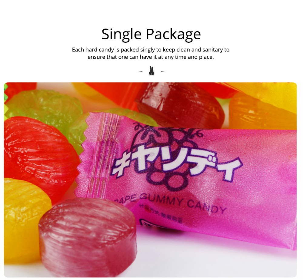 Fruit Flavor Hard Candy for Wedding Snacks, Mixed Package Multiple Flavor Bulk Package Hard Candies, Grape Lemon Flavor 4