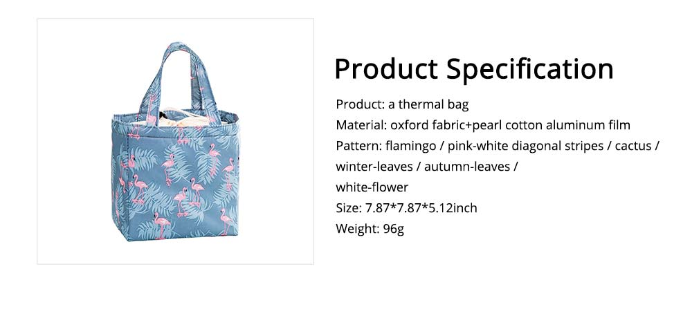 Thermal Bag for Picnic Lunch, Waterproof Thermal Lunch Bag with Strong Thermal Insulation Cooler Function 6