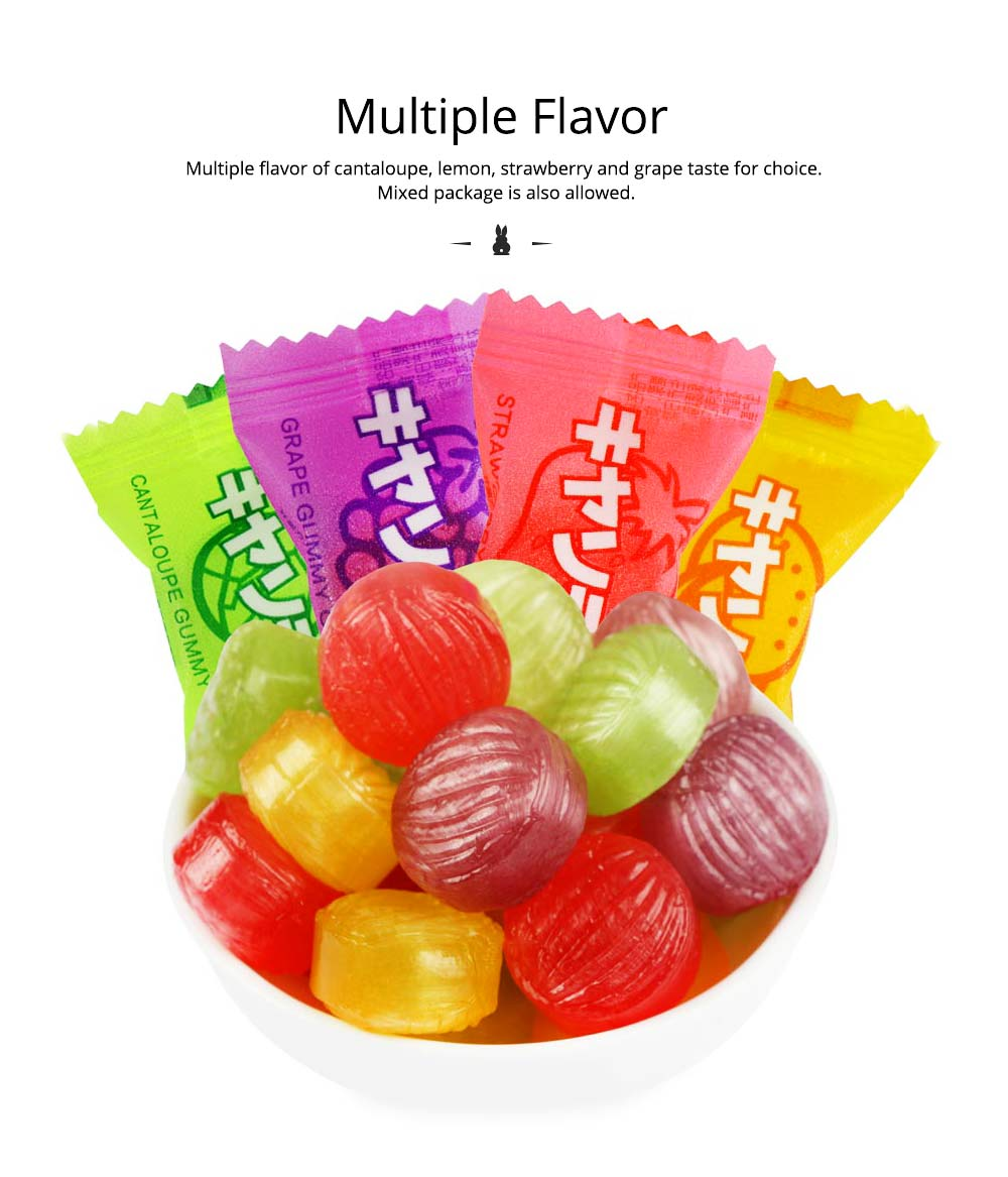 Fruit Flavor Hard Candy for Wedding Snacks, Mixed Package Multiple Flavor Bulk Package Hard Candies, Grape Lemon Flavor 5