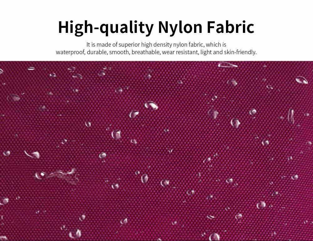Waterproof High Density Nylon Mummy Shoulder Bag, Large Capacity Multiple Pockets Messenger Cross Body Hand Bag 1