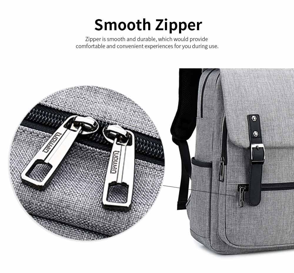 Oxford Cloth Casual Students Backpack, Fashion Minimalist Shoulder Bag Laptop Bag Travel Bag 2