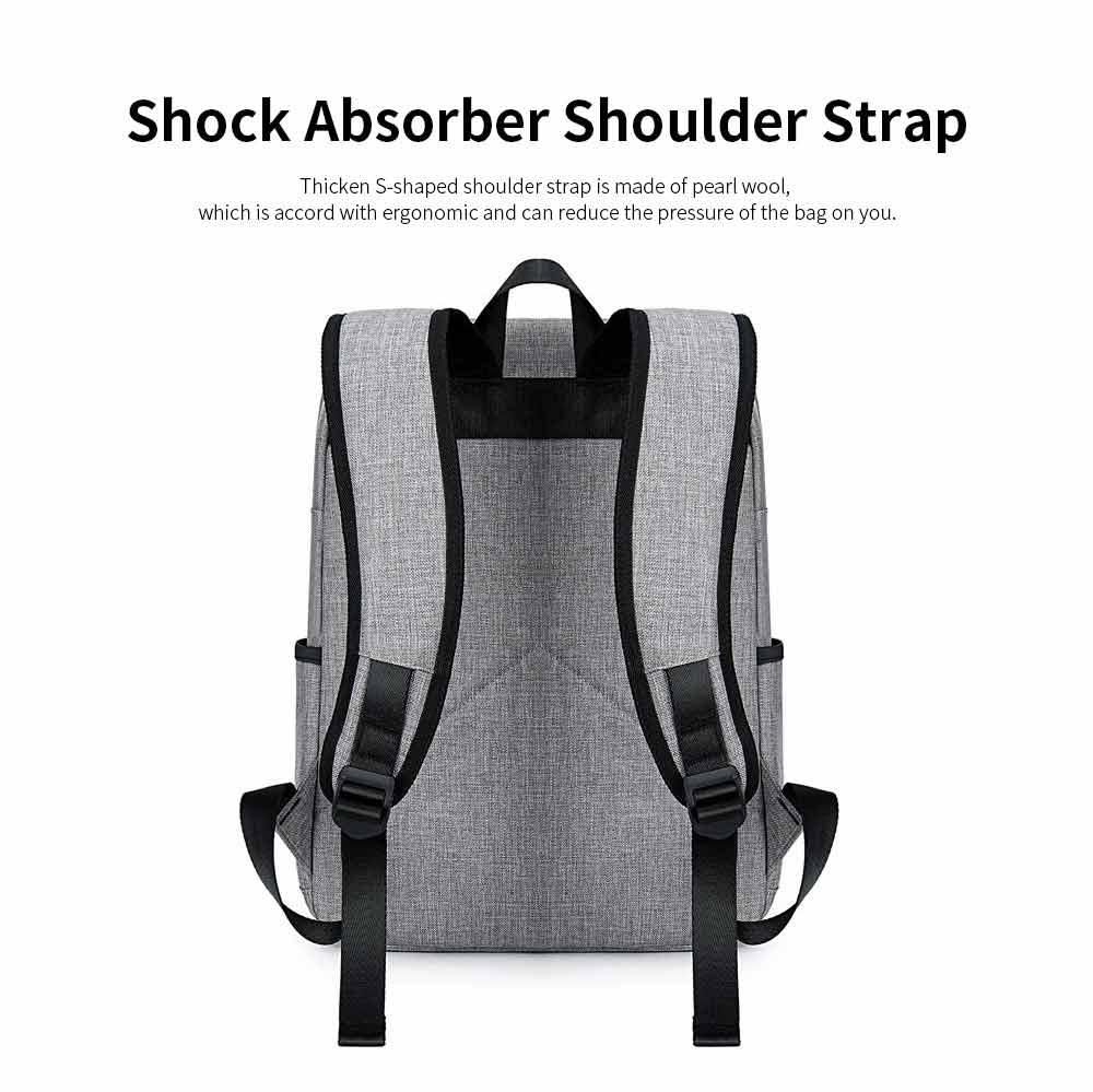 Oxford Cloth Casual Students Backpack, Fashion Minimalist Shoulder Bag Laptop Bag Travel Bag 4
