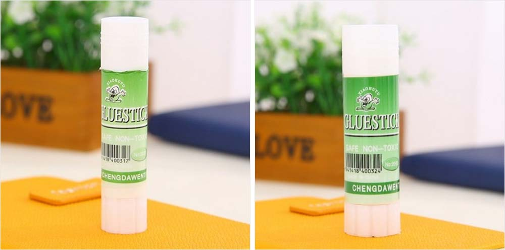 Environmental Green Tube PVA Solid Glue Stick Strong Paper Adhesive School & Office Gum 2