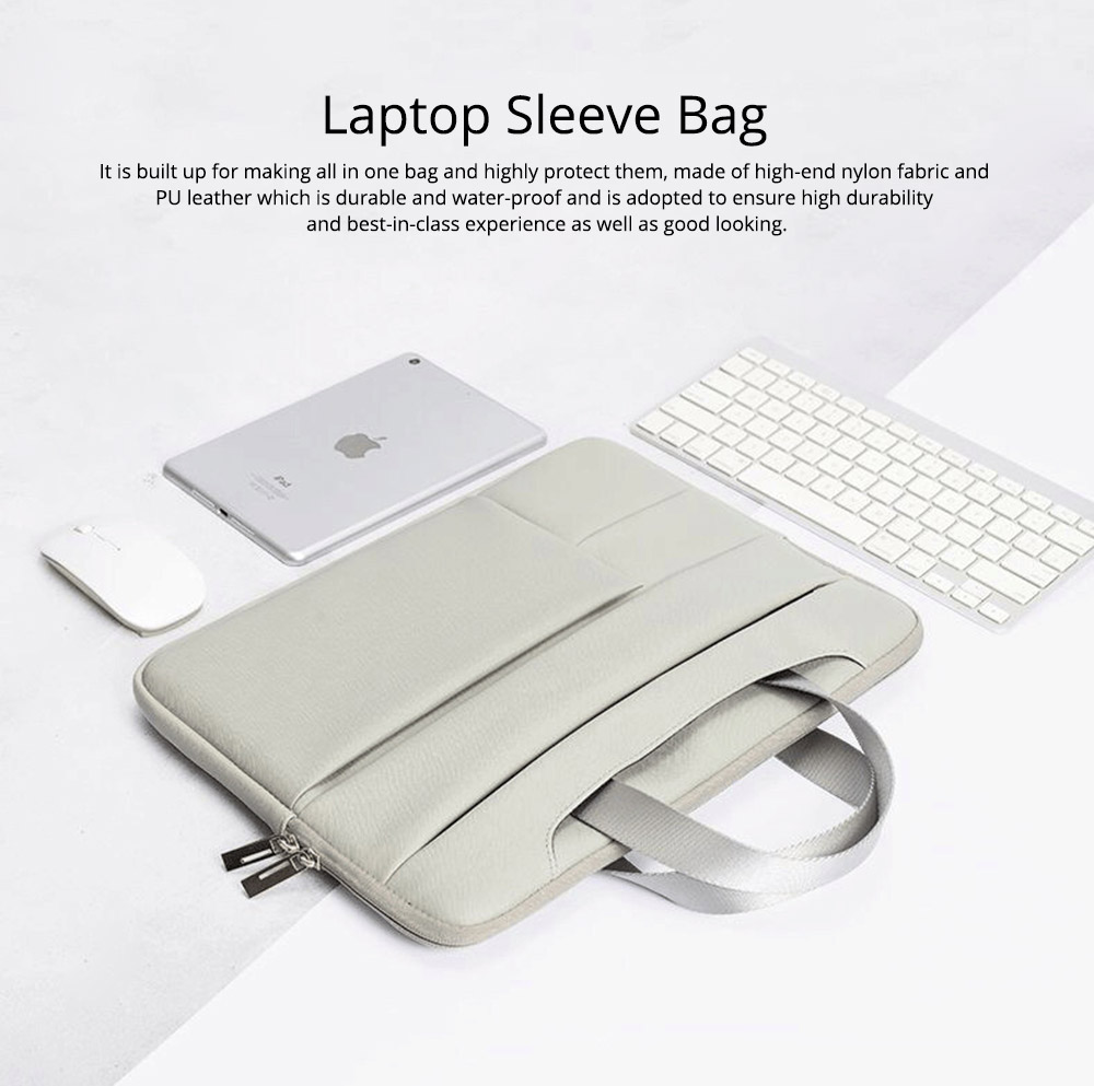 Computer Cover Laptop Case Sleeve Bag in Many Sizes, Durable Nylon Notebook Pouch for 11 12 13 14 15 15.6 Inch Computer 0