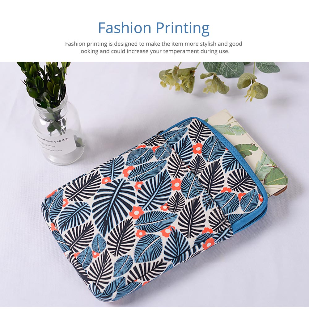 Portable Tablet Computer Sleeve Bag for iPad , Thicken Printing Shock-proof Break-proof Tablet Accessories 16
