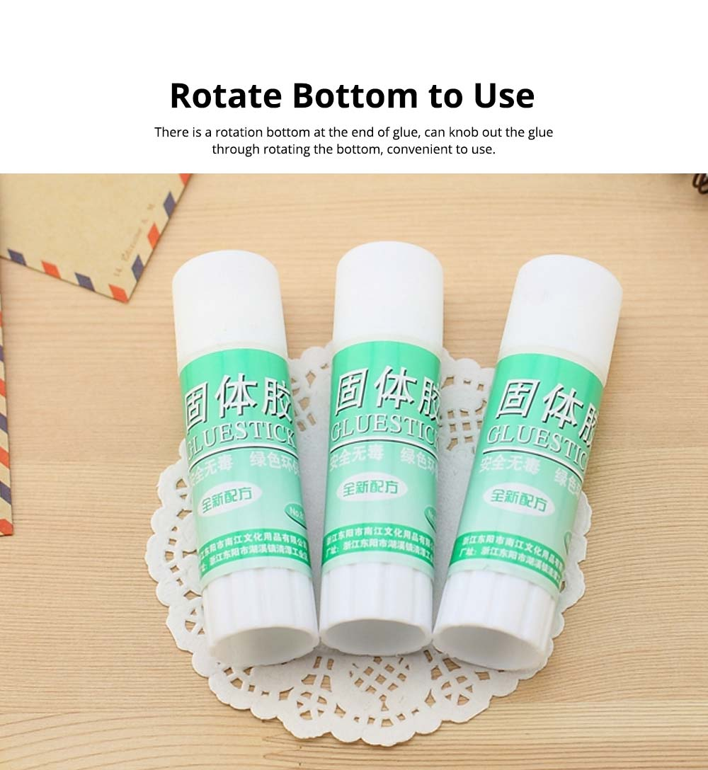 Classical Green Tube PVA Solid Glue Stick Strong Glue Adhesive Gum Office Supplies Student Stationery 4