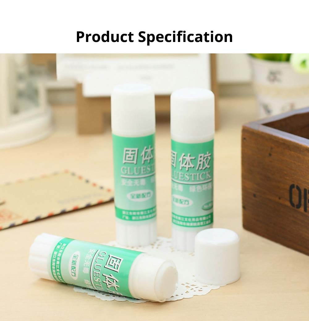 Classical Green Tube PVA Solid Glue Stick Strong Glue Adhesive Gum Office Supplies Student Stationery 8