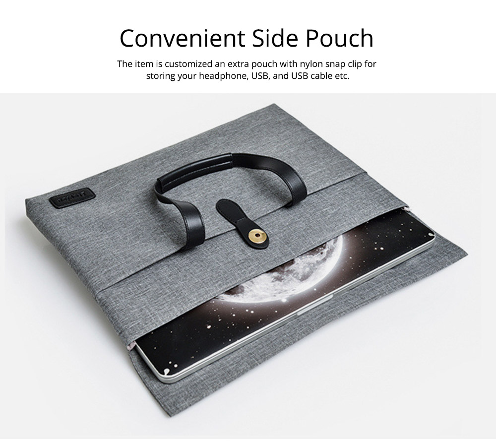 Business Waterproof Laptop Ultrabook Sleeve Case Bag Cover, Pouch Laptop Bag with Handle for Different Size of Computers 3
