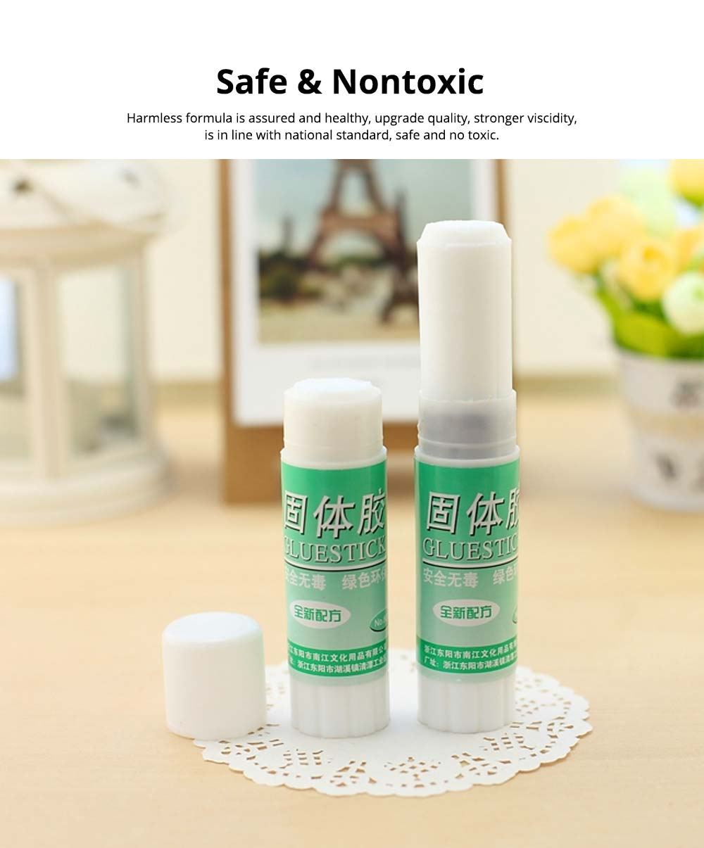 Classical Green Tube PVA Solid Glue Stick Strong Glue Adhesive Gum Office Supplies Student Stationery 3