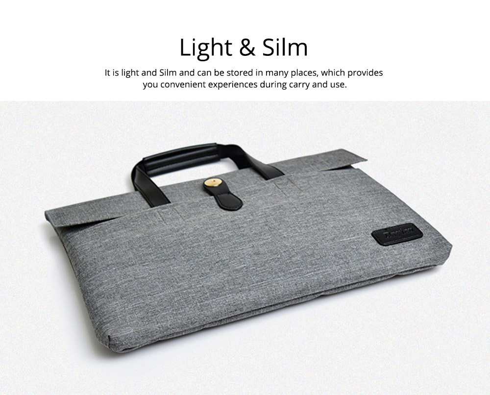 Business Waterproof Laptop Ultrabook Sleeve Case Bag Cover, Pouch Laptop Bag with Handle for Different Size of Computers 7
