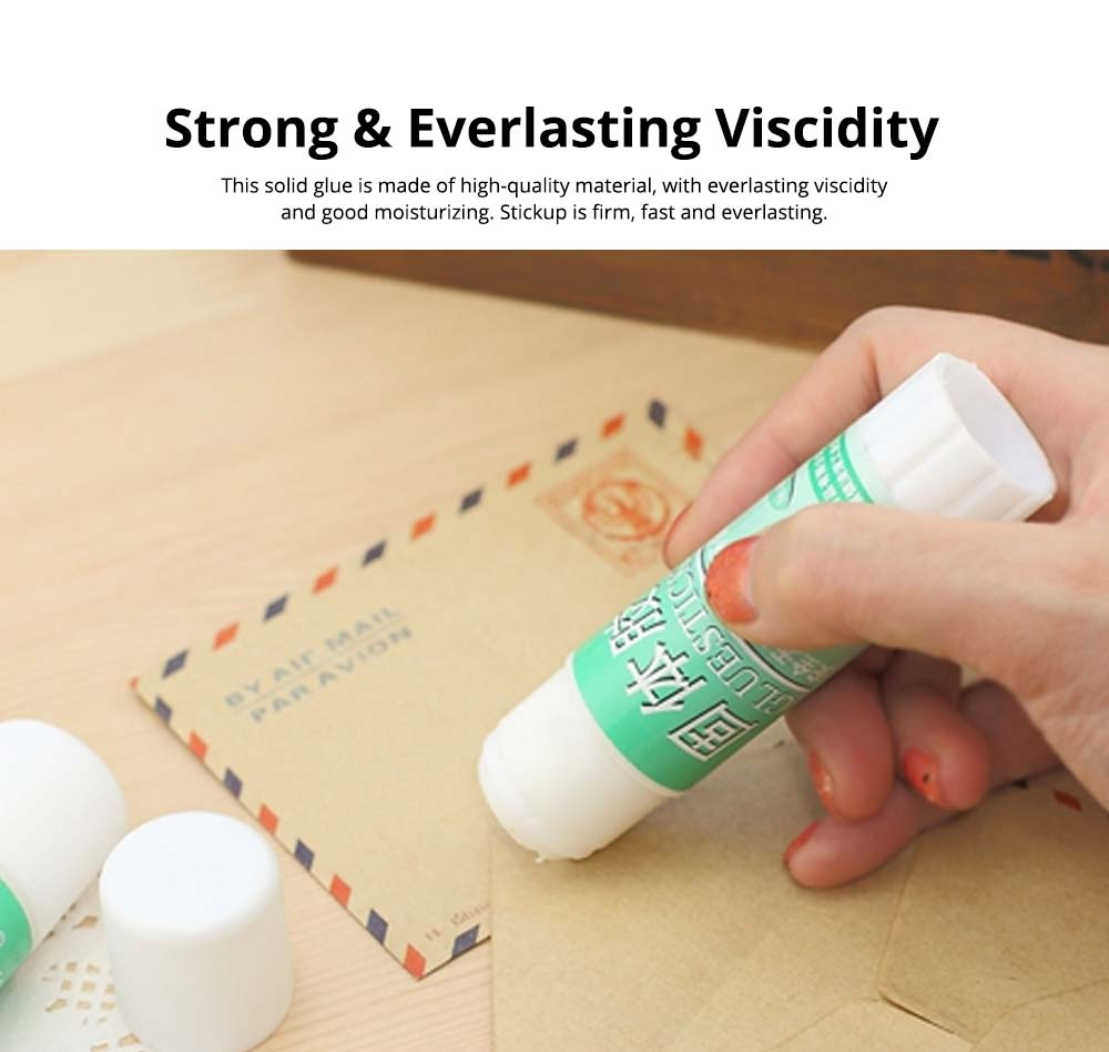 Classical Green Tube PVA Solid Glue Stick Strong Glue Adhesive Gum Office Supplies Student Stationery 2