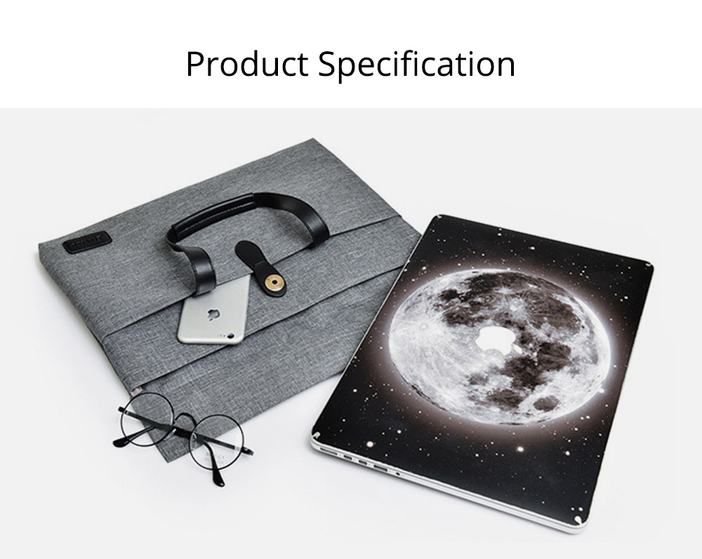 Business Waterproof Laptop Ultrabook Sleeve Case Bag Cover, Pouch Laptop Bag with Handle for Different Size of Computers 9