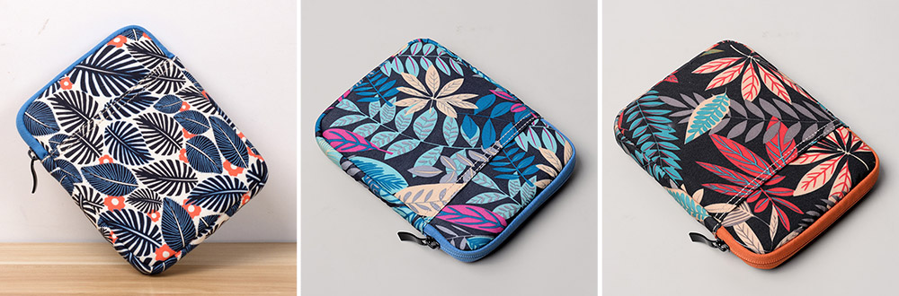 Portable Tablet Computer Sleeve Bag for iPad , Thicken Printing Shock-proof Break-proof Tablet Accessories 17