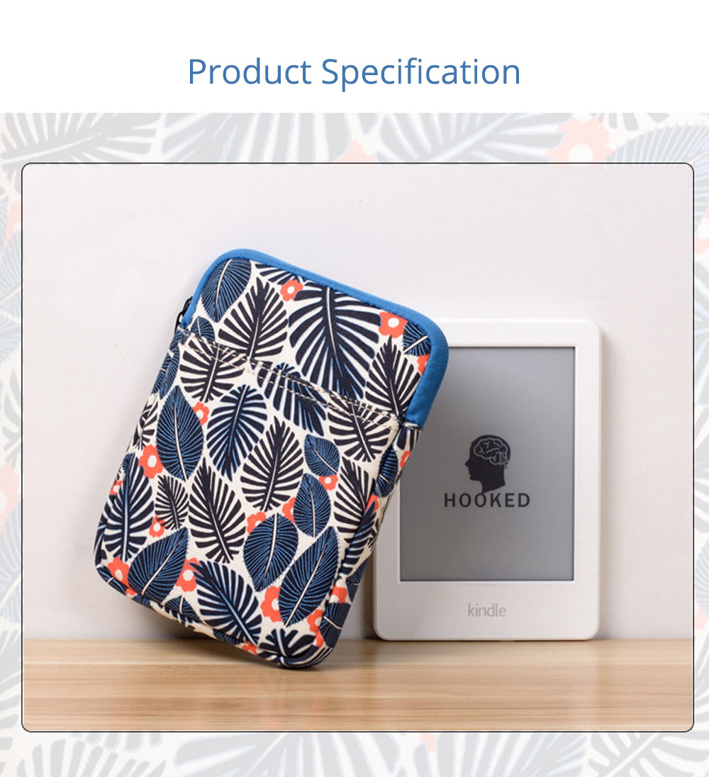 Portable Tablet Computer Sleeve Bag for iPad , Thicken Printing Shock-proof Break-proof Tablet Accessories 7