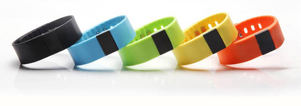 Fitness Smart Bluetooth Silicone Bracelet With Anti-loss Remote Photograph for Sleep Monitoring and Step Counting 1