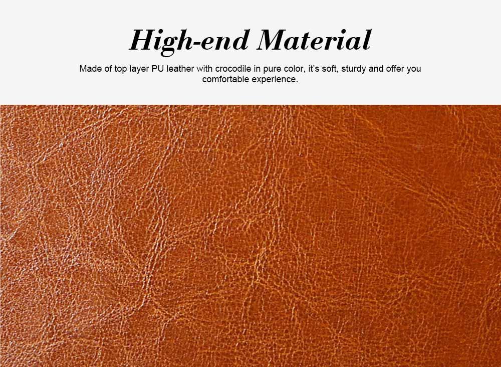 Oil Wax PU Leather Handbags With Detachable Shoulder Strap, Fashion Ladies Portable Slung Shoulder Bag 1