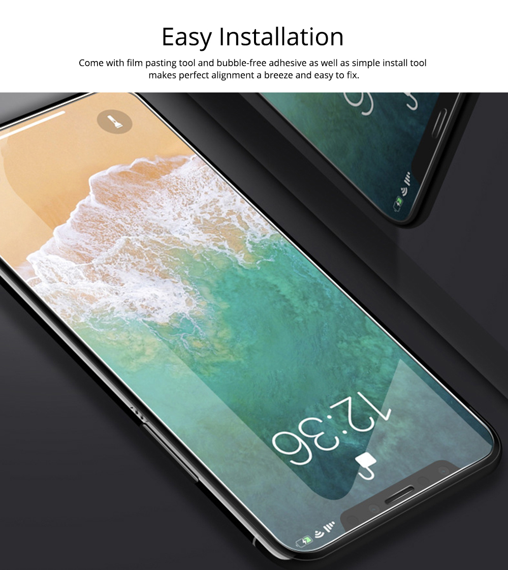 Fully Covered Tempered Film 8 Apple XS Max XR iPhone7Plus X Mobile Phone Film 6S Protective Glass Film 3