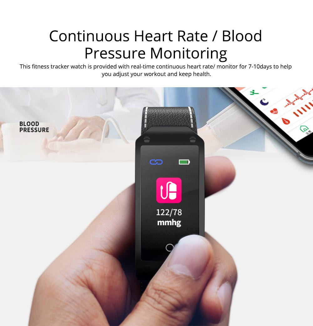 Smart Bracelet with GPS Positioning for Continuous Heart Rate Monitoring and Call Reminder 1