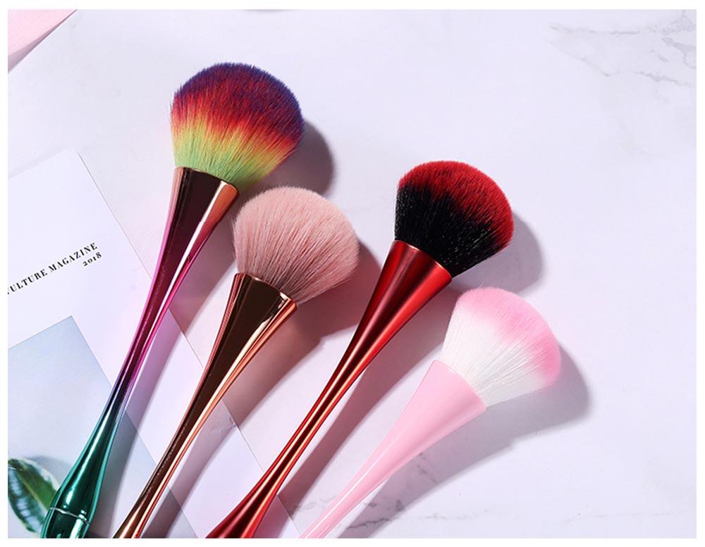 Multifunctional Makeup Brush with Small Pretty Waist, Beauty Makeup Blush Powder Painting as Powder Paint and Blush Brush 10