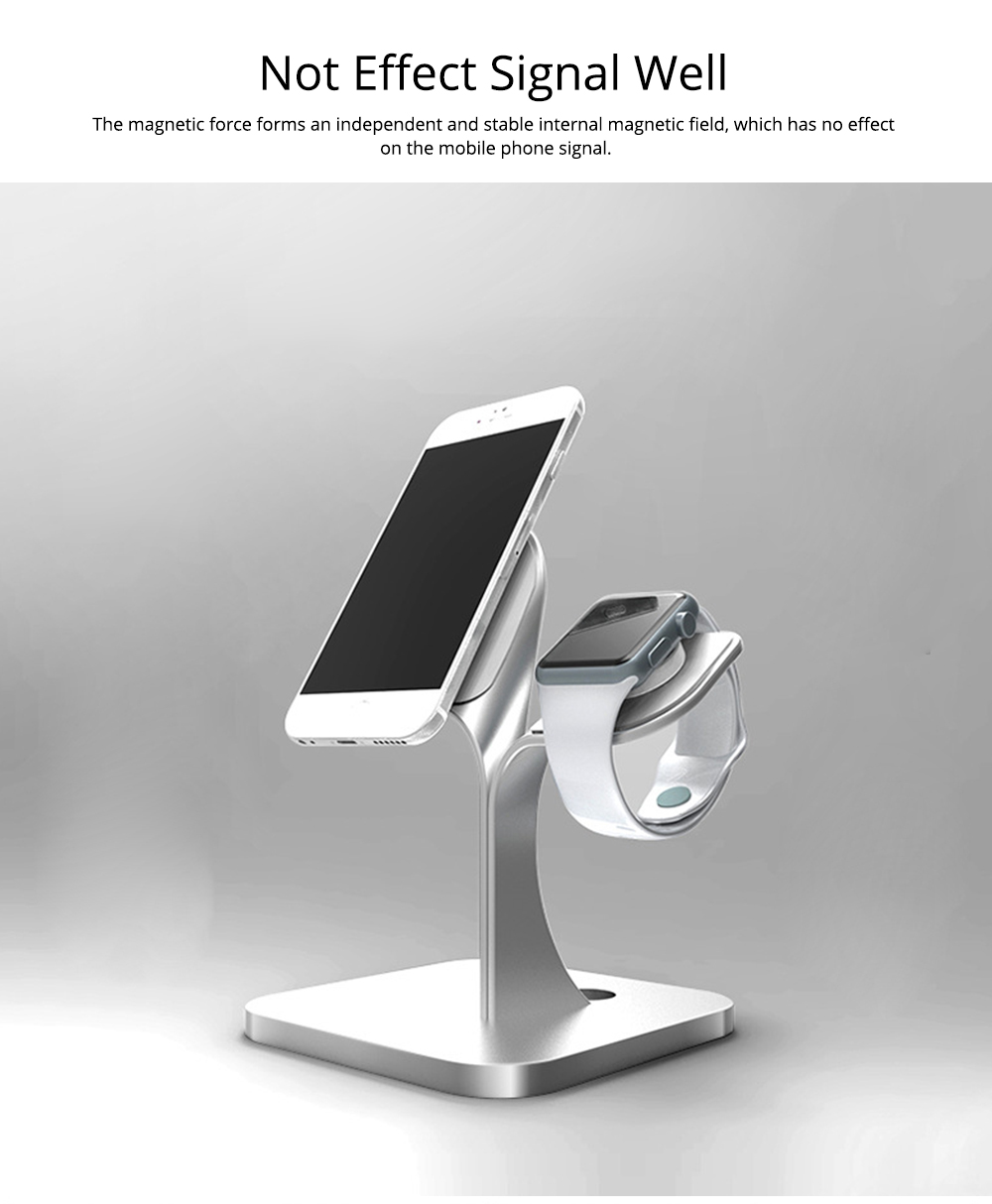 Mobile Phone Stand iwatch Charging Base, Aluminum Alloy Mobile Phone Display Stand Base Universal 7