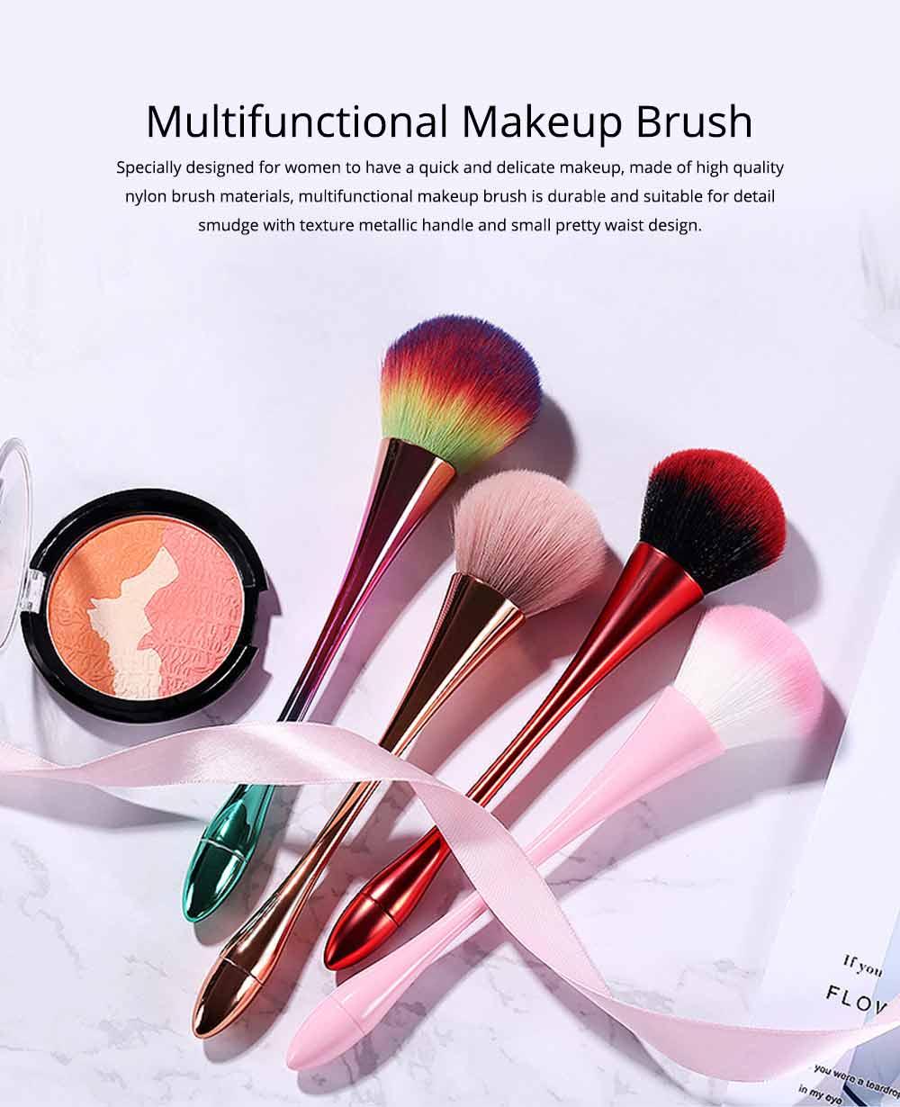 Multifunctional Makeup Brush with Small Pretty Waist, Beauty Makeup Blush Powder Painting as Powder Paint and Blush Brush 0