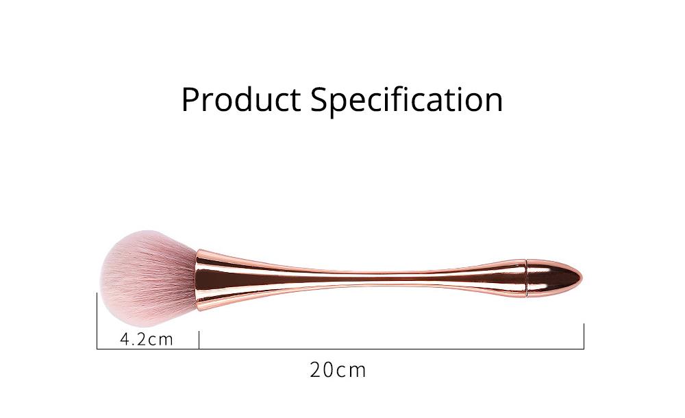 Multifunctional Makeup Brush with Small Pretty Waist, Beauty Makeup Blush Powder Painting as Powder Paint and Blush Brush 8