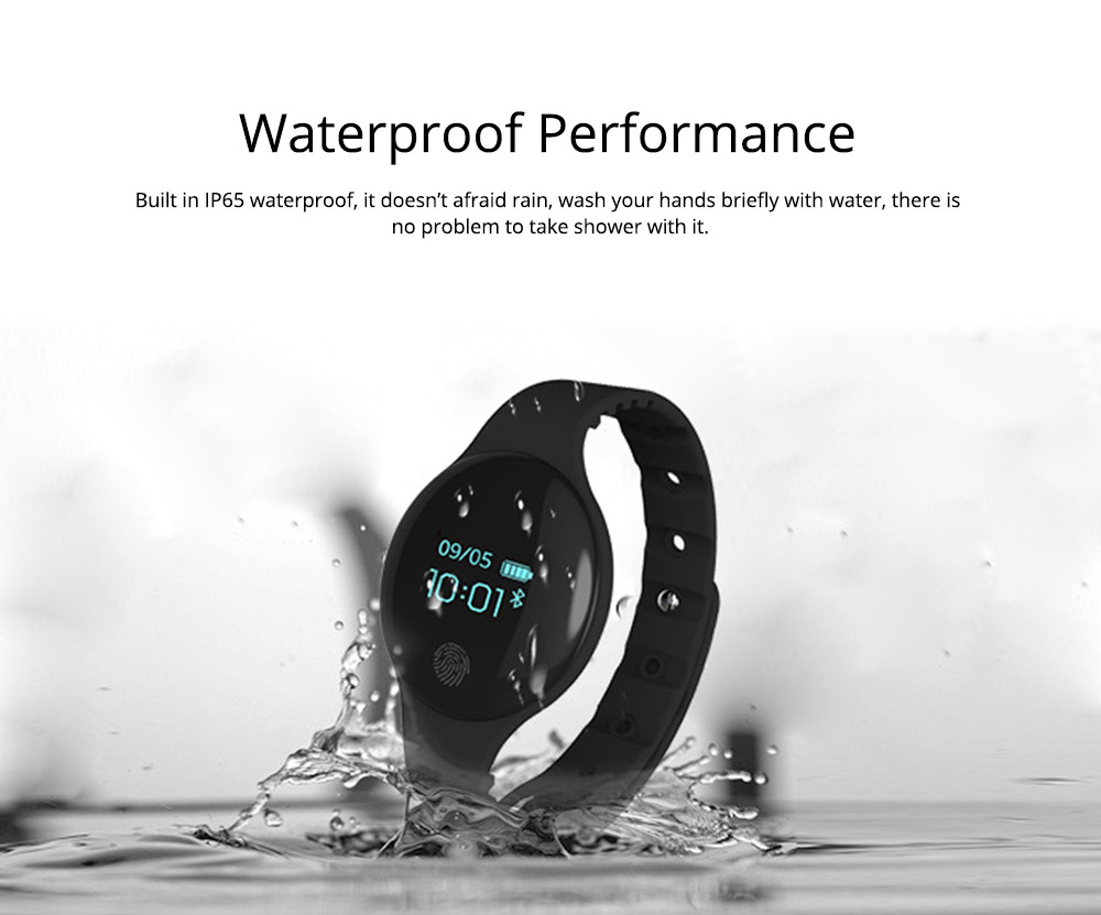 Sports Smart Watch Smart Silicone Bracelet with Touch Screen Bluetooth Pedometer for Children's Gift 3