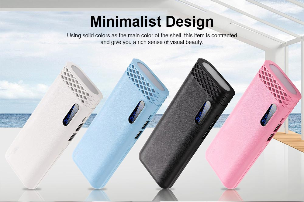 Ultra High Capacity 20000MAH Power Bank, Mini Portable External Battery for Mobile Phone 5