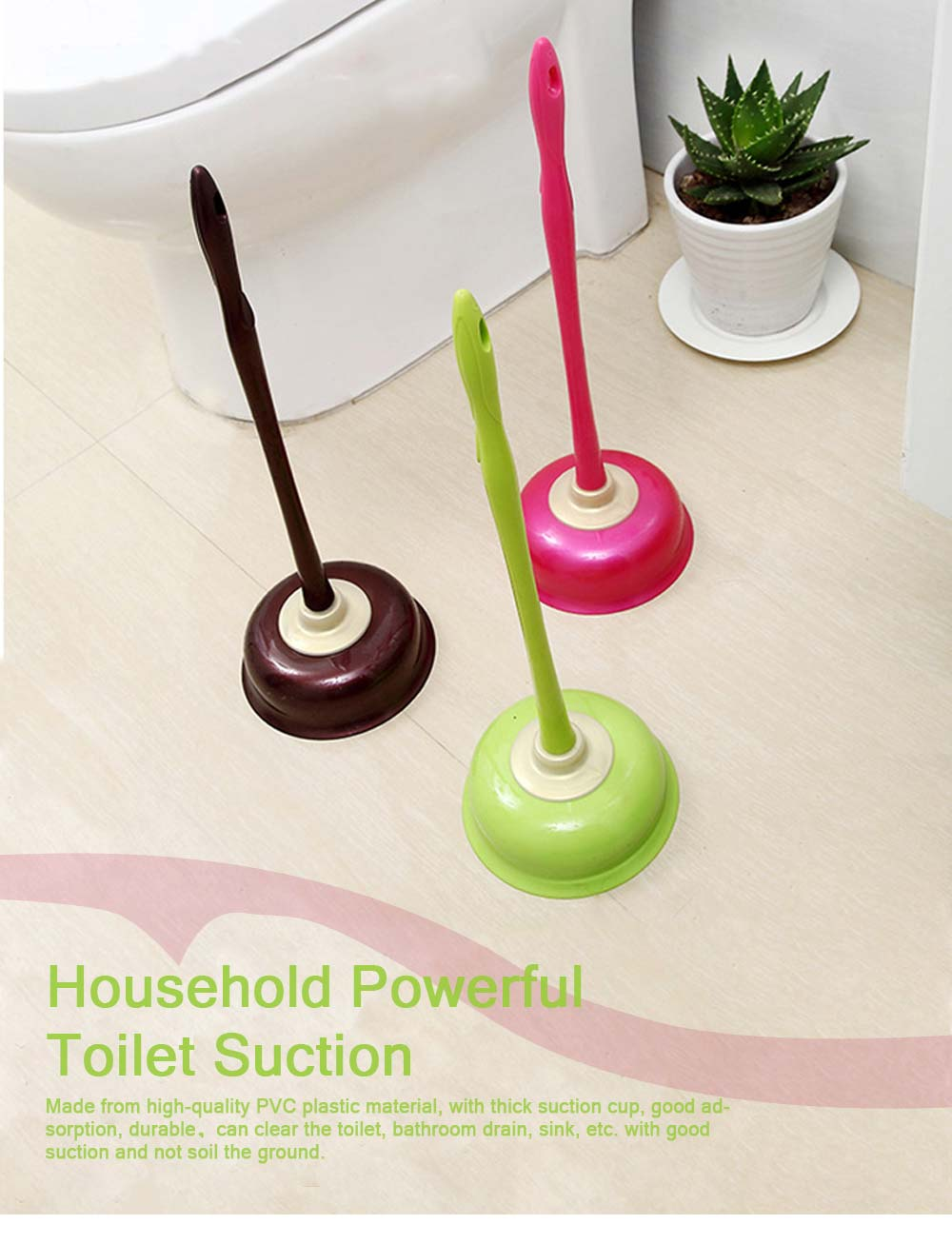 Household Powerful Toilet Suction, Dredger Suction for Toilet, Sparse Toilet, Bathroom Drain, Dredging Toilet Suction 0