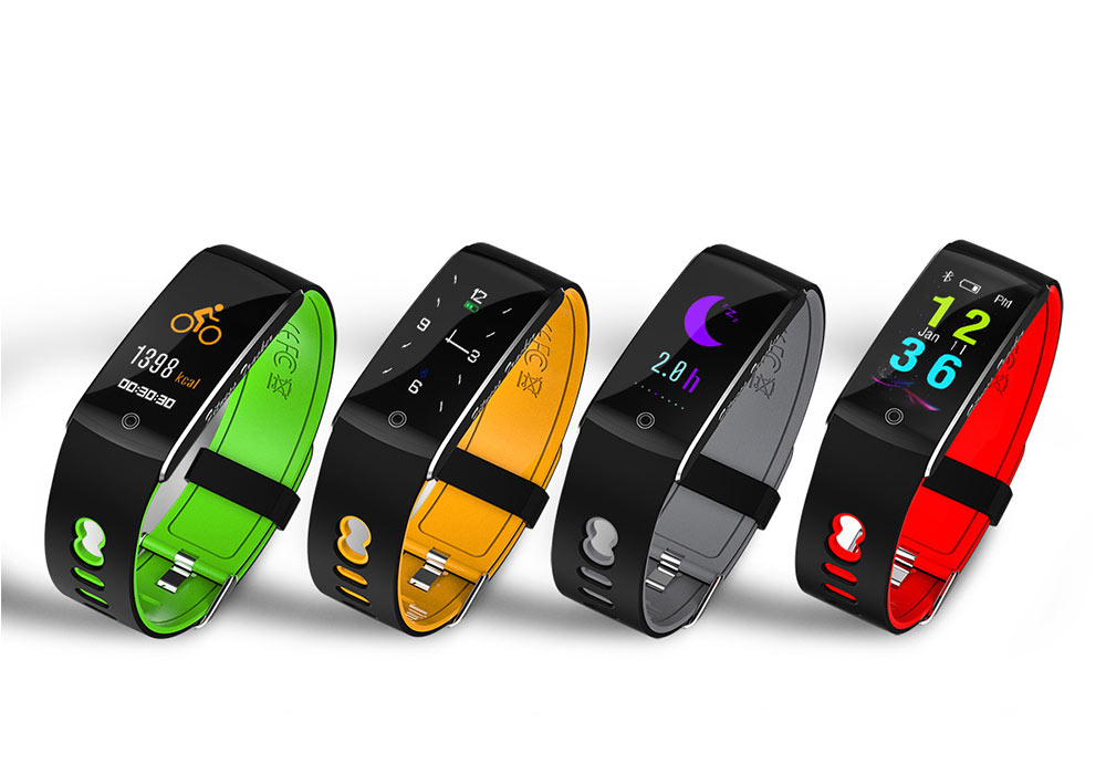 Waterproof Sports Bluetooth Smart Bracelet with Silicone Ultra-soft Watchband for Call Reminder and Rate Monitoring 1