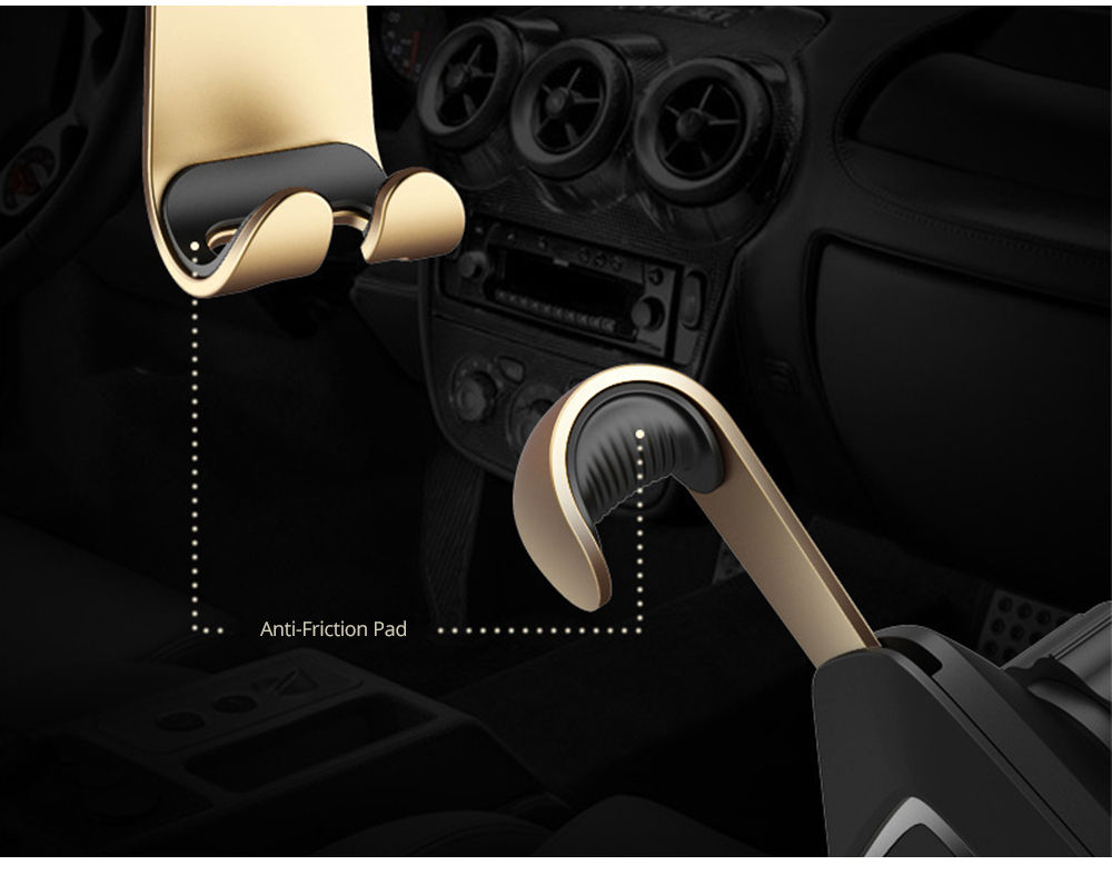 Car Phone Holder Air Outlet Gravity Bracket, Creative Car Navigation Bracket For Cell Phone 5