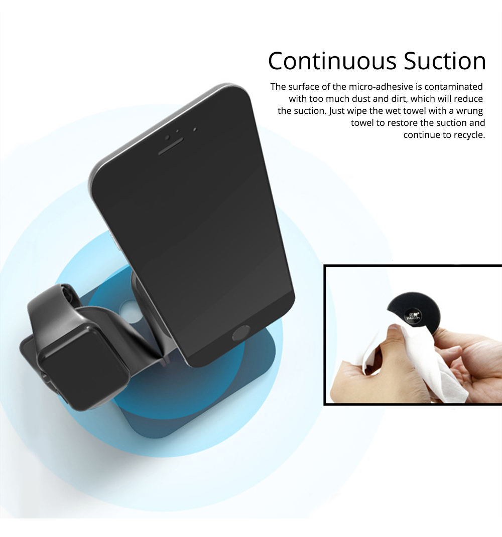 Mobile Phone Stand iwatch Charging Base, Aluminum Alloy Mobile Phone Display Stand Base Universal 5