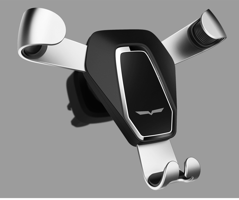 Car Phone Holder Air Outlet Gravity Bracket, Creative Car Navigation Bracket For Cell Phone 11