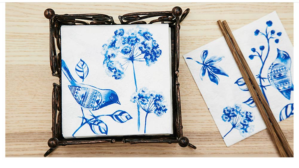 Tissue Environmental Printed Napkin for Wedding Dining Disposable Table Supplies Paper 14