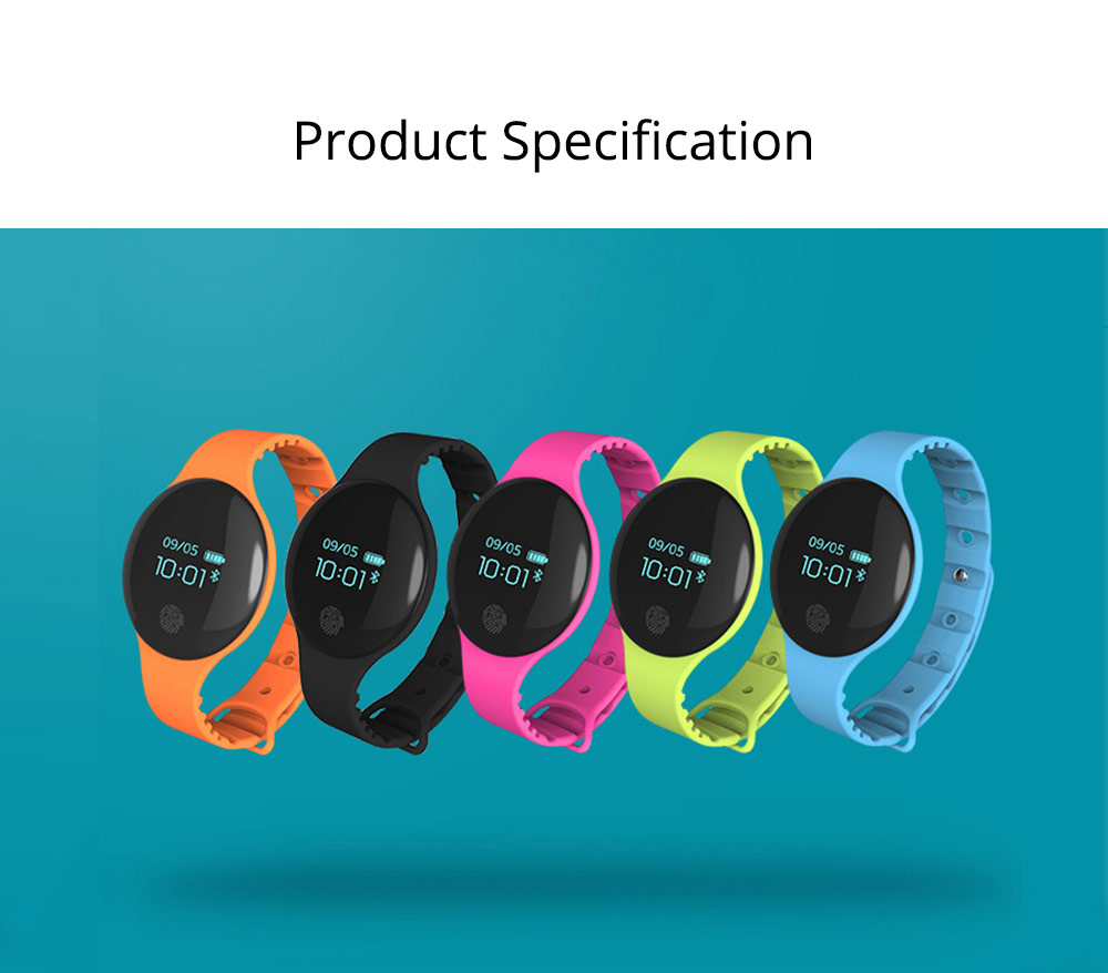 Sports Smart Watch Smart Silicone Bracelet with Touch Screen Bluetooth Pedometer for Children's Gift 7