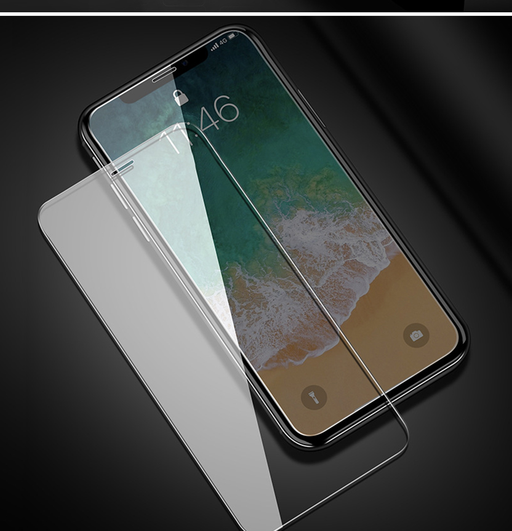 Fully Covered Tempered Film 8 Apple XS Max XR iPhone7Plus X Mobile Phone Film 6S Protective Glass Film 6