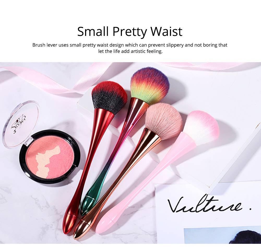 Multifunctional Makeup Brush with Small Pretty Waist, Beauty Makeup Blush Powder Painting as Powder Paint and Blush Brush 7