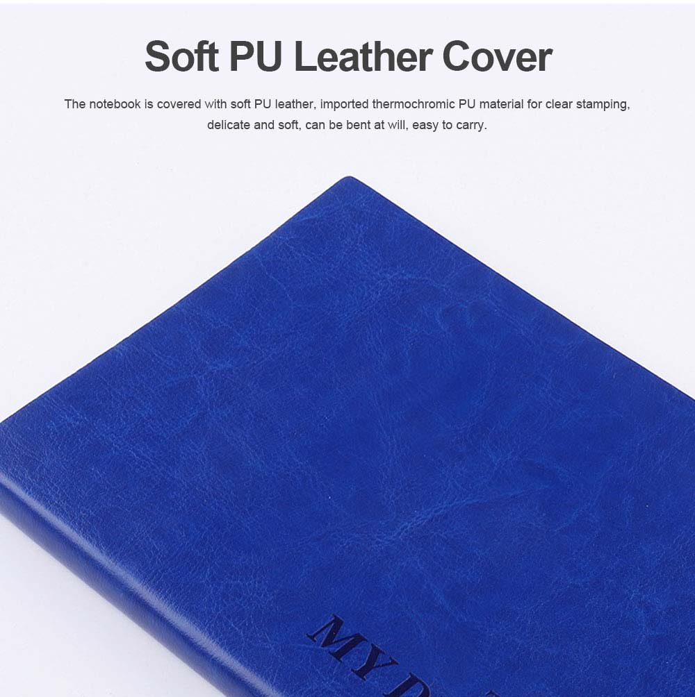 Armored PU Leather A6/B6/A5/B5/A4 Notebook Journal Diary 200 Pages 1