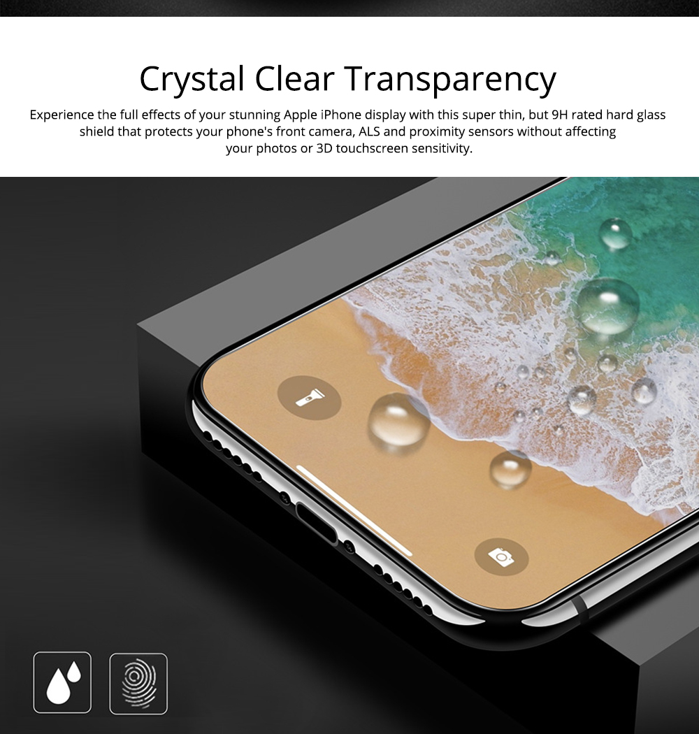 Fully Covered Tempered Film 8 Apple XS Max XR iPhone7Plus X Mobile Phone Film 6S Protective Glass Film 5