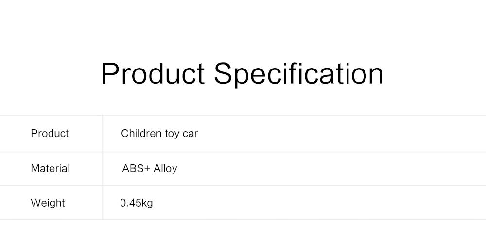 Children Toy Car Pull Back Car Set, Alloy Puzzle Car, Mobilization Q Version Mini Toy Car for Children 5